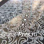 Нанесение логотипа на стекло - шелкография на стекле